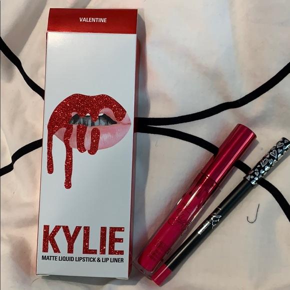 Kylie Cosmetics Other - Brand New Kylie Lipkit VALENTINE